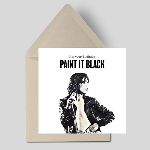 It's your Birthday Paint It Black