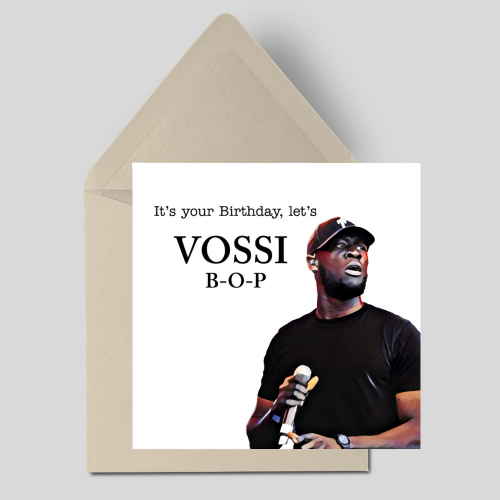 It's your Birthday let's Vossi B-O-P