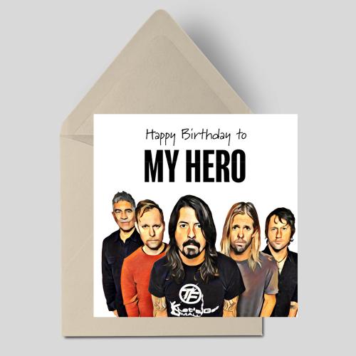 Happy Birthday to My Hero
