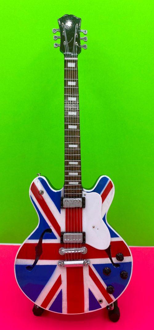 Union Jack Britpop Gibson 335