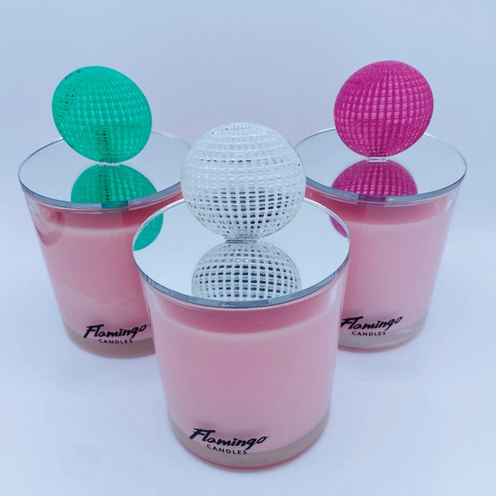 Pink Lemonade Disco Candle