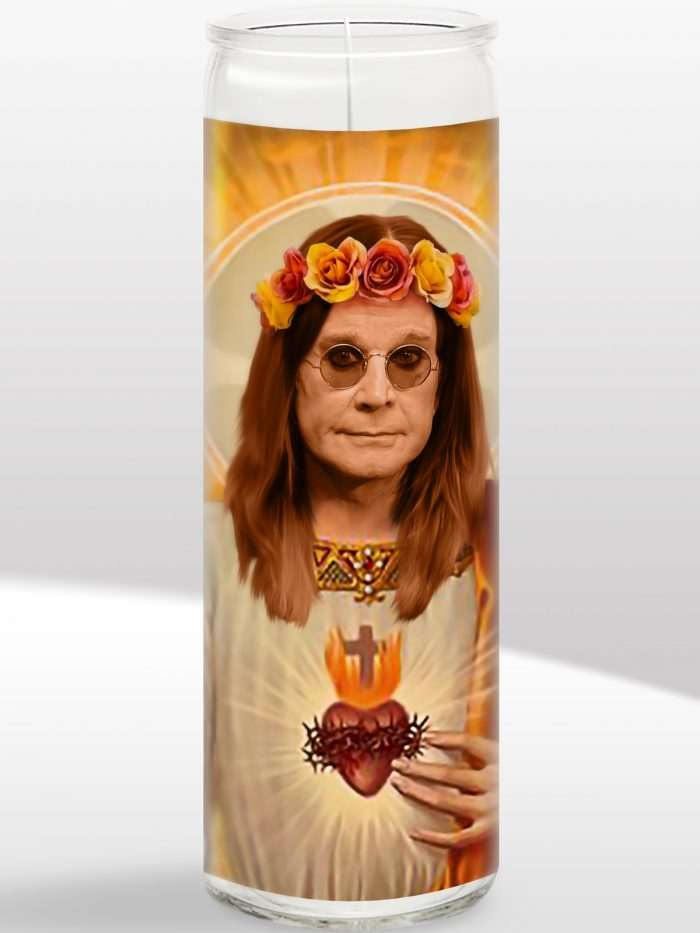 Ozzy Osbourne Candle